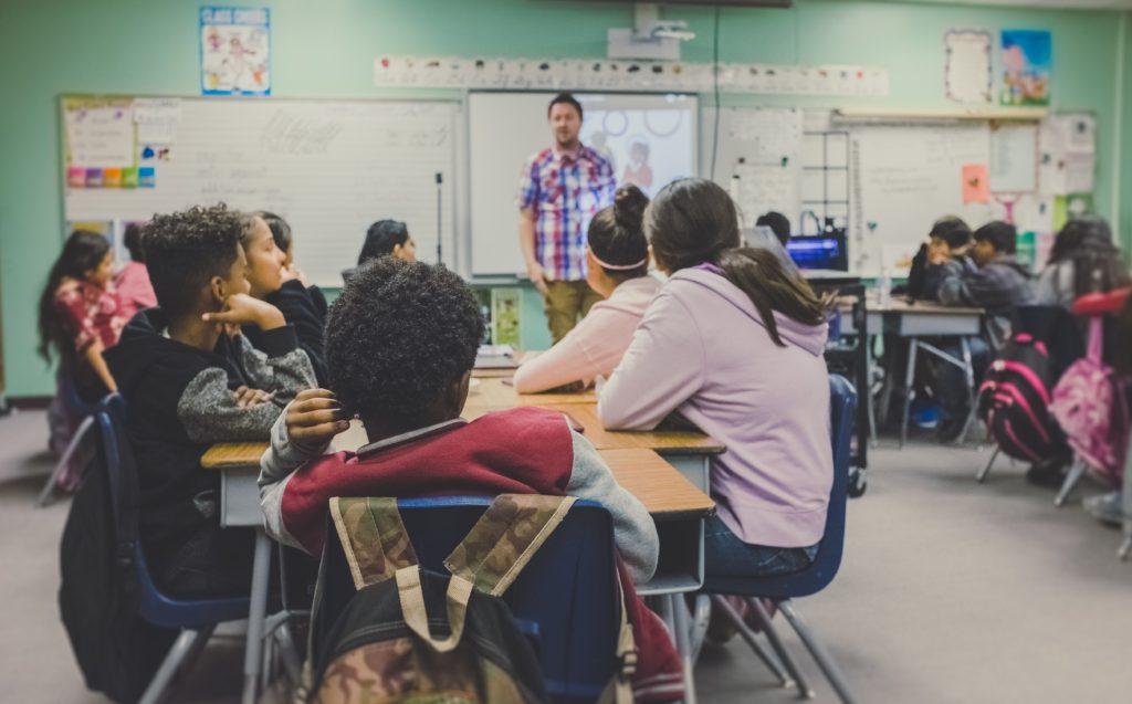 現代教育の教育風景